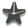 Garment Studs Star Nickel 11mm
